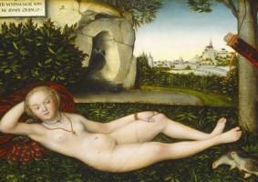 泉のニンフ ルカス・クラーナハ(父) 1537年以降 ワシントン・ナショナル・ギャラリー © Courtesy National Gallery of Art,Washington