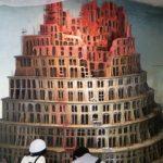 ブリューゲル「バベルの塔」を立体化 最新テクノロジーで昼と夜の姿を演出
