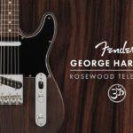 フェンダーからジョージ・ハリスンのシグネイチャーモデルが限定発売