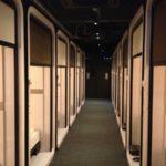 「ファーストキャビン 柏の葉」飛行機ファーストクラスをイメージした宿泊施設